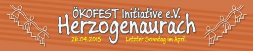 15. Ökofest in den Weihersbach-Anlagen von 11:00 bis 19:00 Uhr