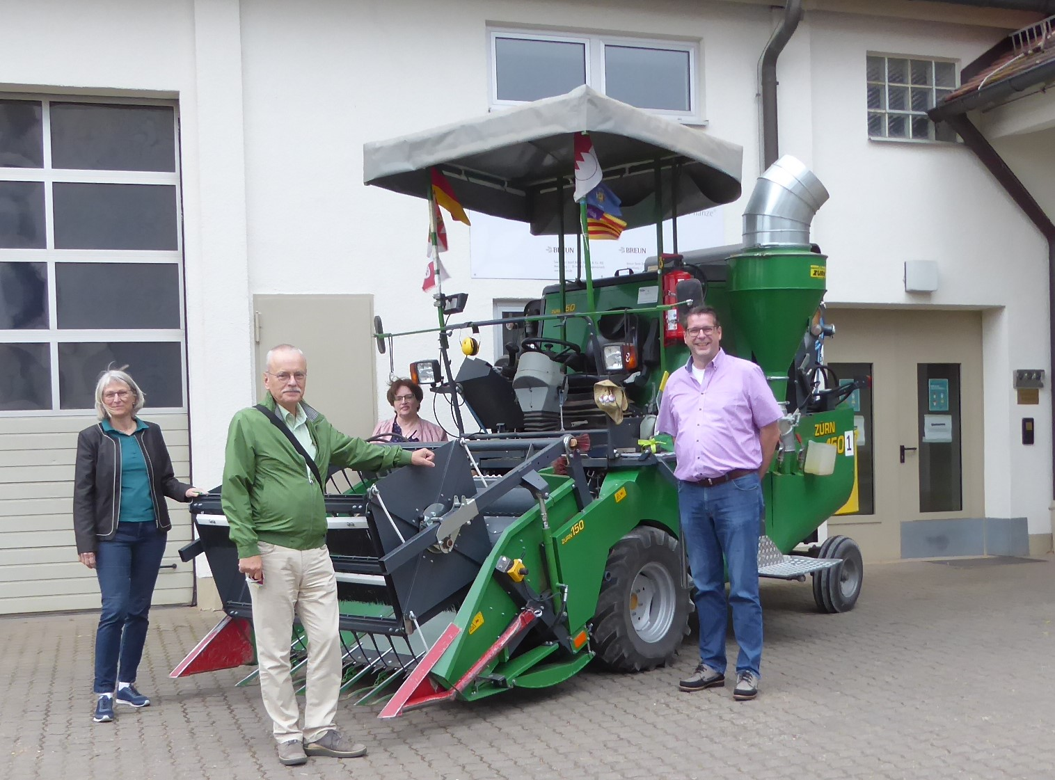 Besuch bei der Saatzucht Josef Breun