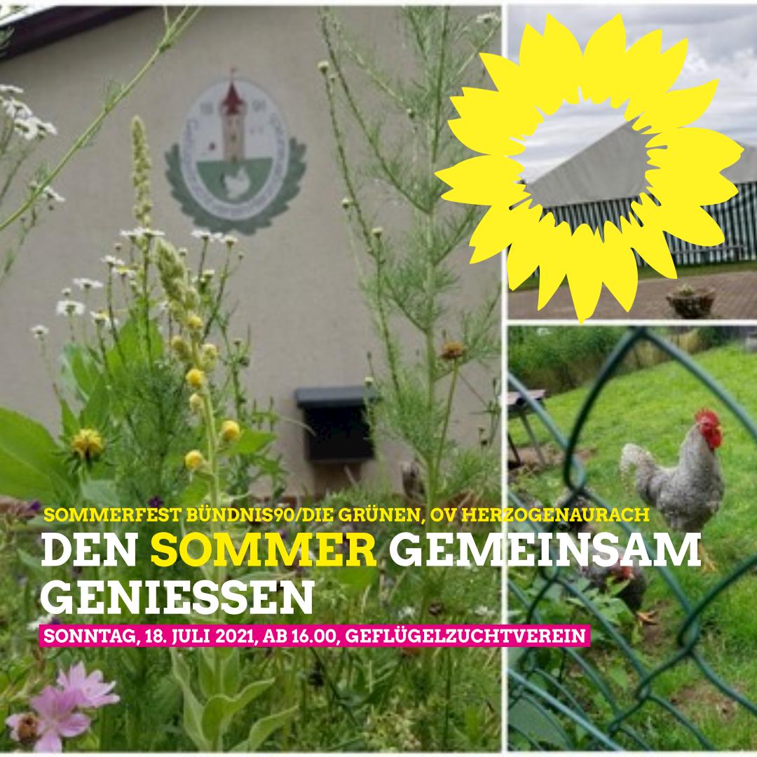 Sommerfest 18.7. OV Herzogenaurach