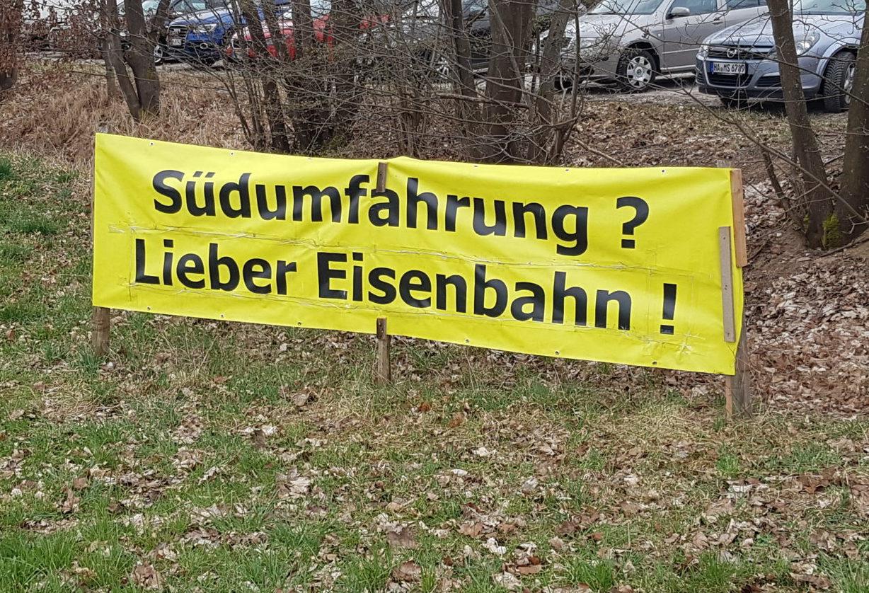 Südumfahrung – Grüne fordern SPD und CSU zum Umdenken auf